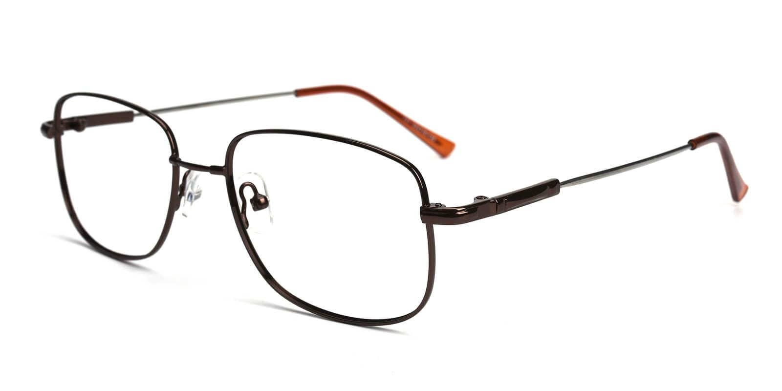 Twist-Brown-Square-Metal-Eyeglasses-additional1
