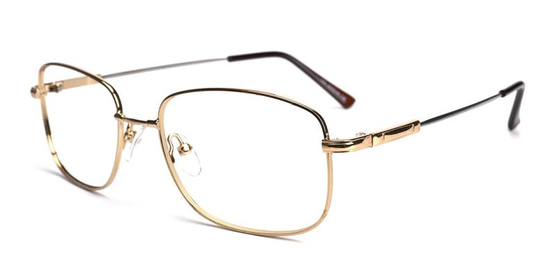 Twist-Gold-Eyeglasses