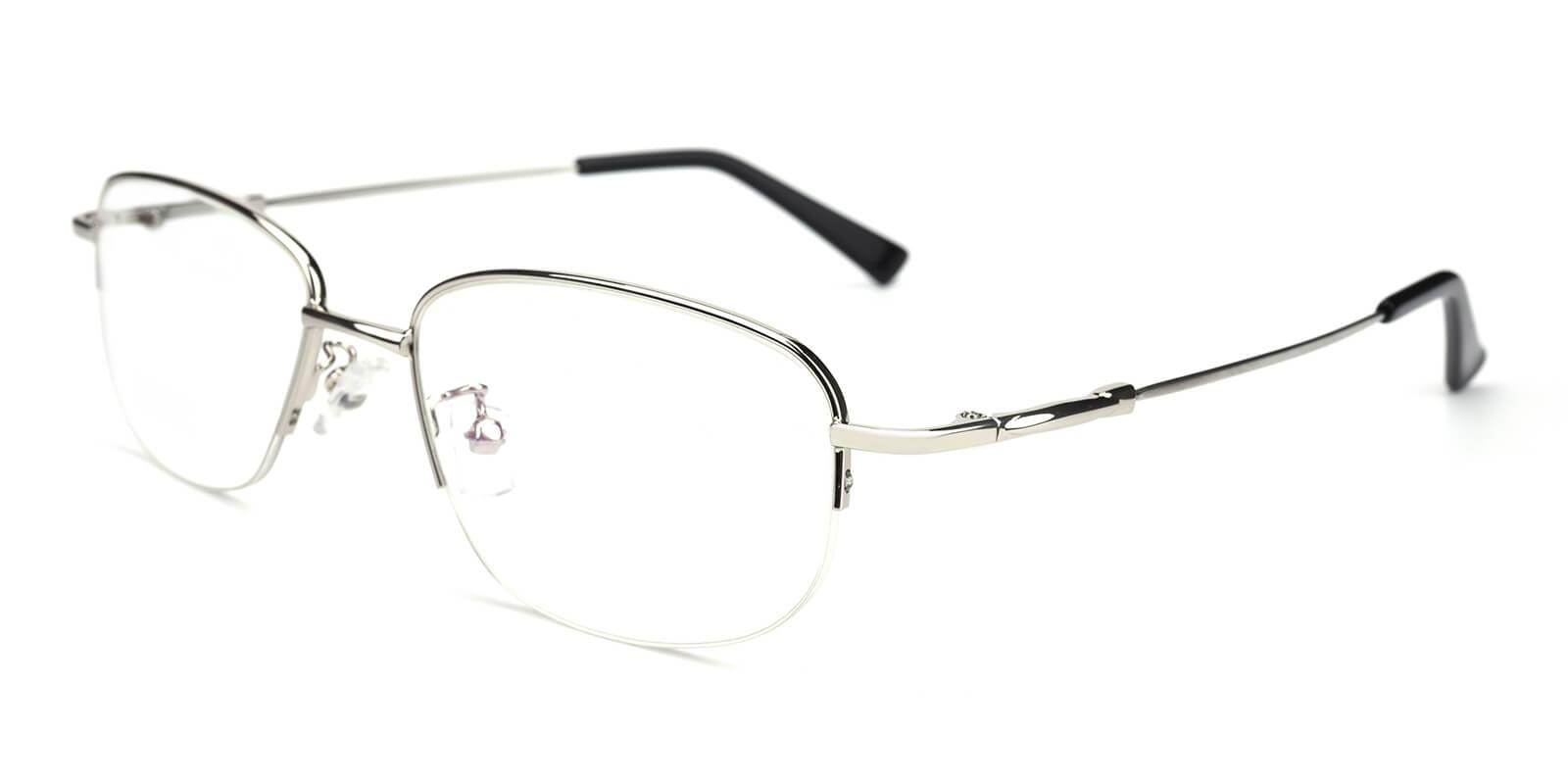 Recial-Silver-Square-Metal-Eyeglasses-additional1