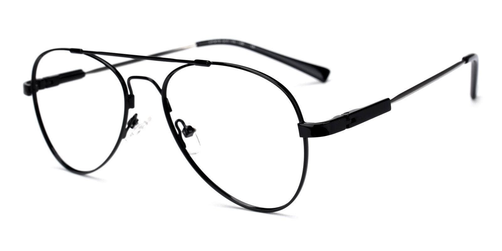 Nantes-Black-Aviator-Metal-Eyeglasses-additional1