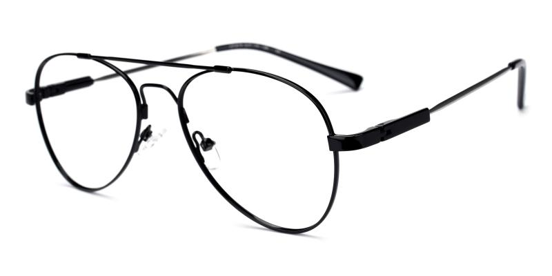 Nantes-Black-Eyeglasses