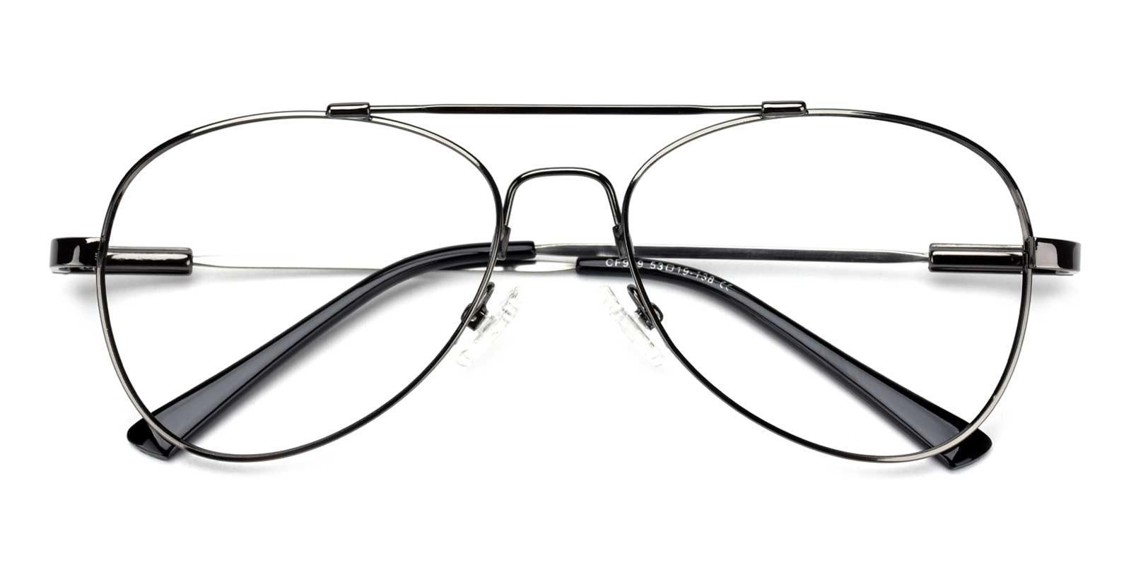 Nantes-Gun-Aviator-Metal-Eyeglasses-detail