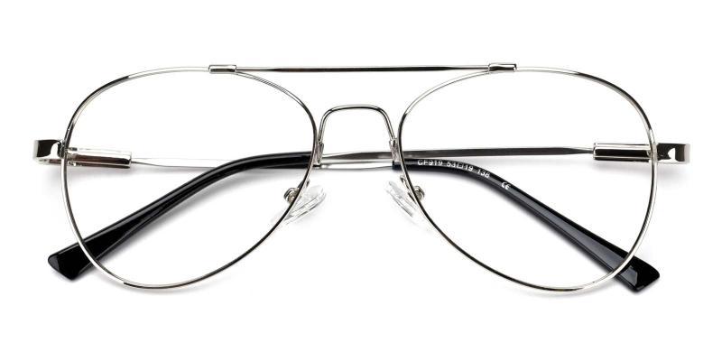 Nantes-Silver-Eyeglasses
