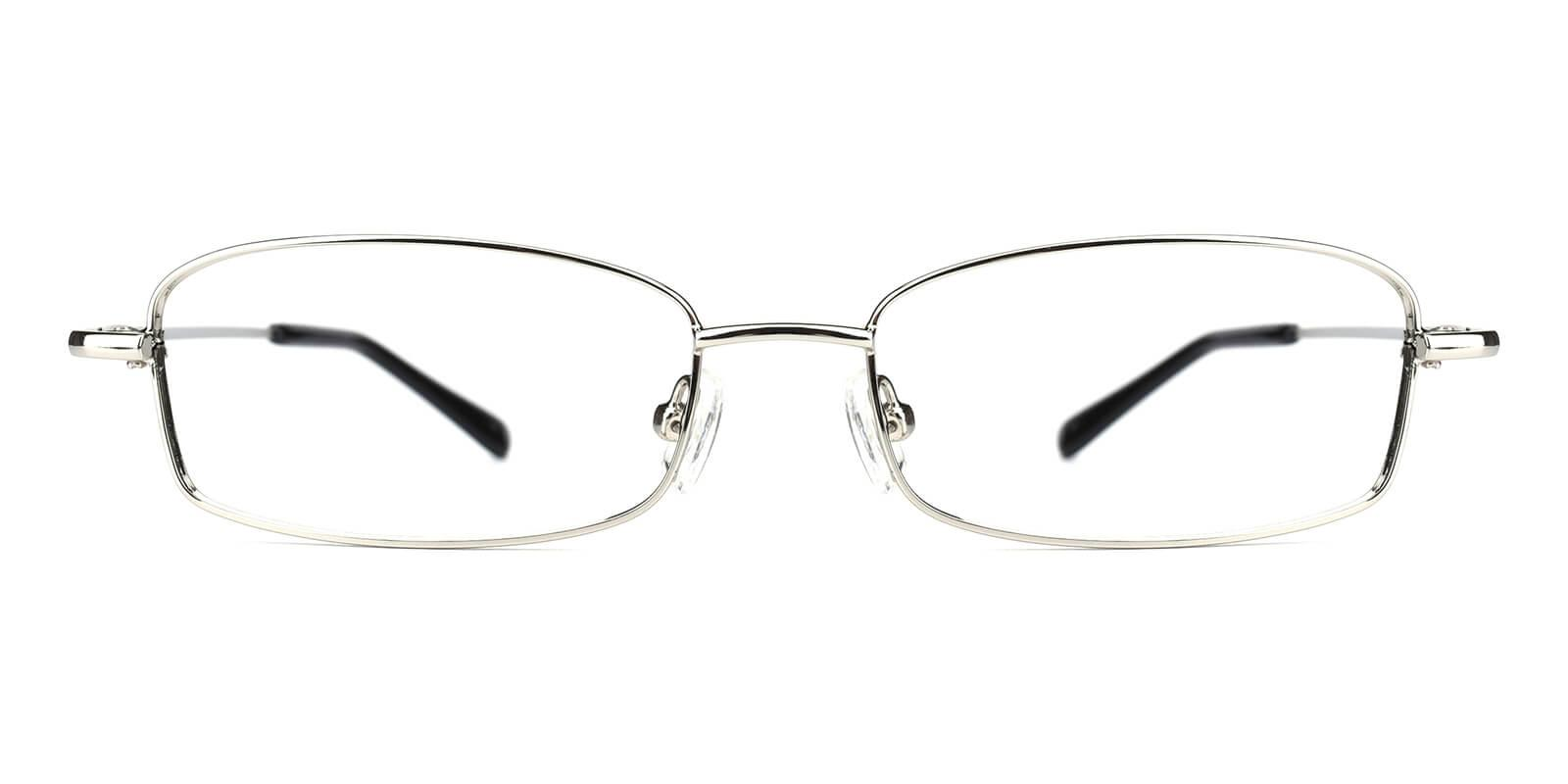 Isha-Silver-Rectangle-Metal-Eyeglasses-additional2