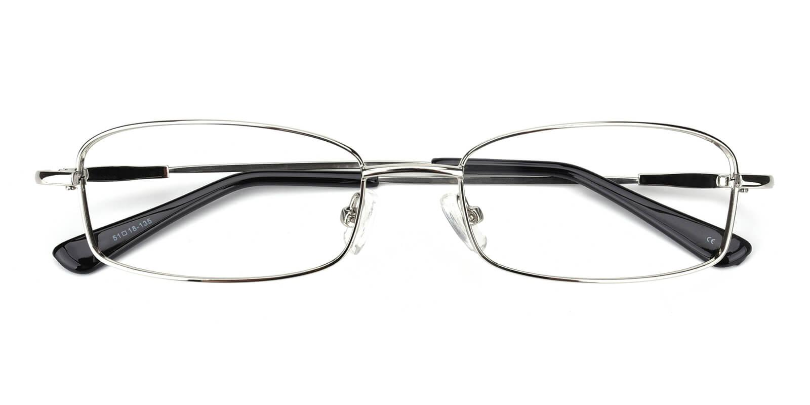 Isha-Silver-Rectangle-Metal-Eyeglasses-detail