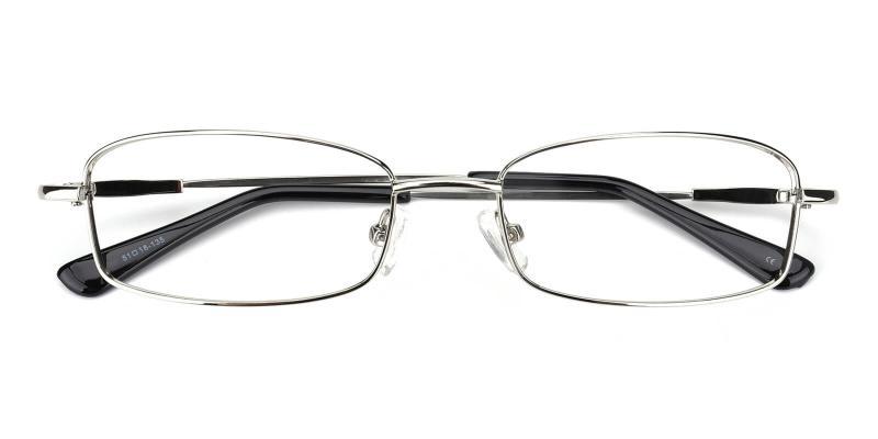 Isha-Silver-Eyeglasses