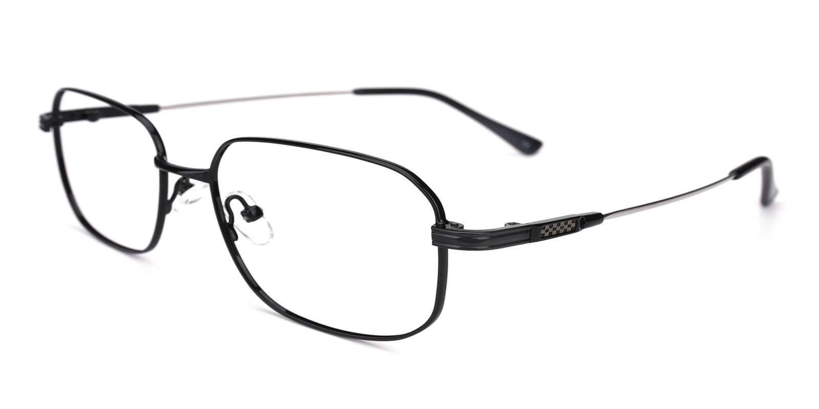 Weston-Black-Square-Metal-Eyeglasses-additional1
