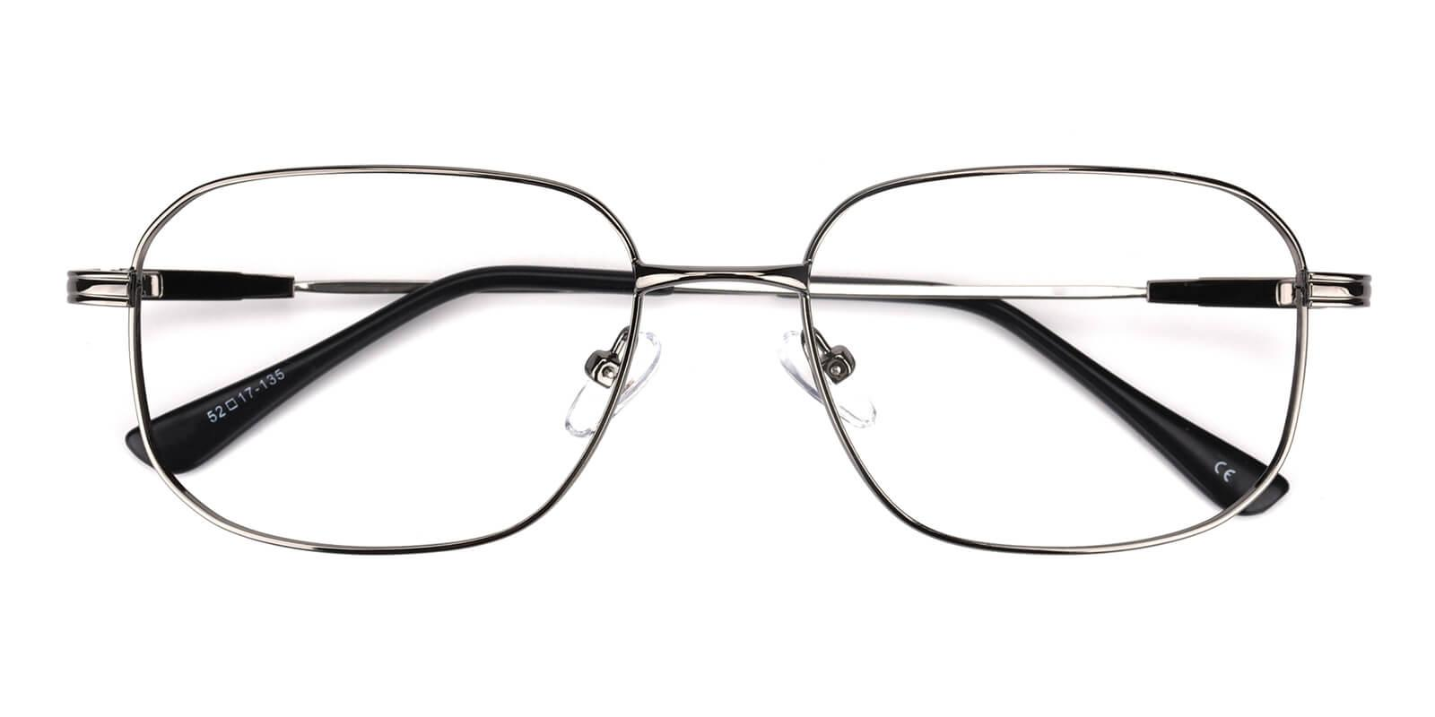 Weston-Gun-Square-Metal-Eyeglasses-detail
