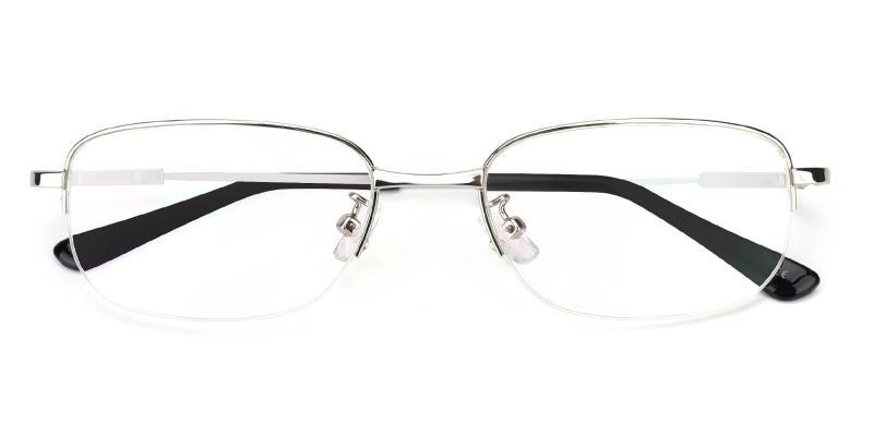 Joplin-Silver-Eyeglasses / NosePads