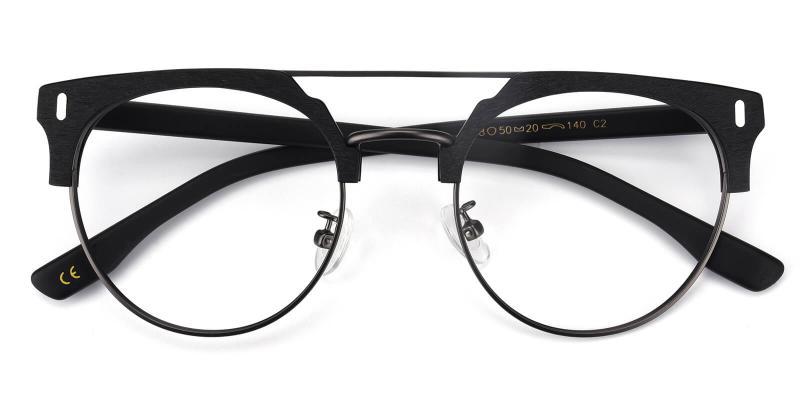 Timons-Black-Eyeglasses