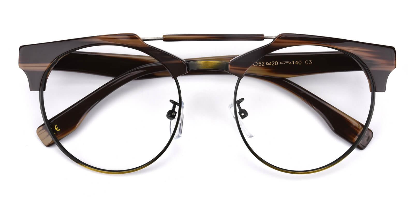Ombama-Leopard-Browline-Combination-Eyeglasses-detail