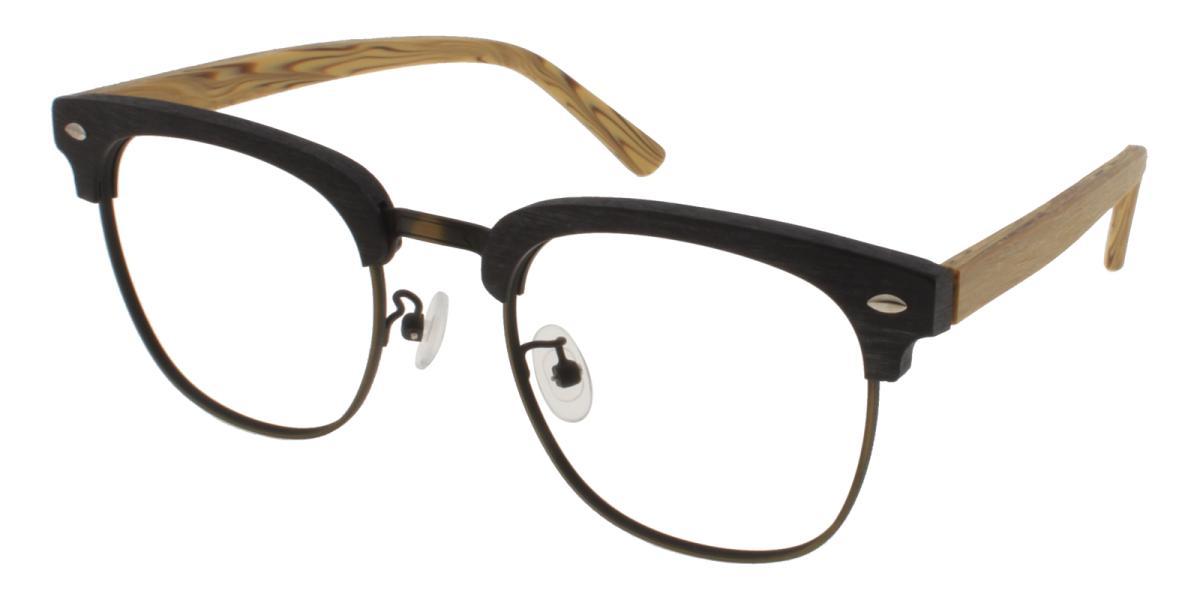 Sequency-Black-Browline-Combination-Eyeglasses-detail