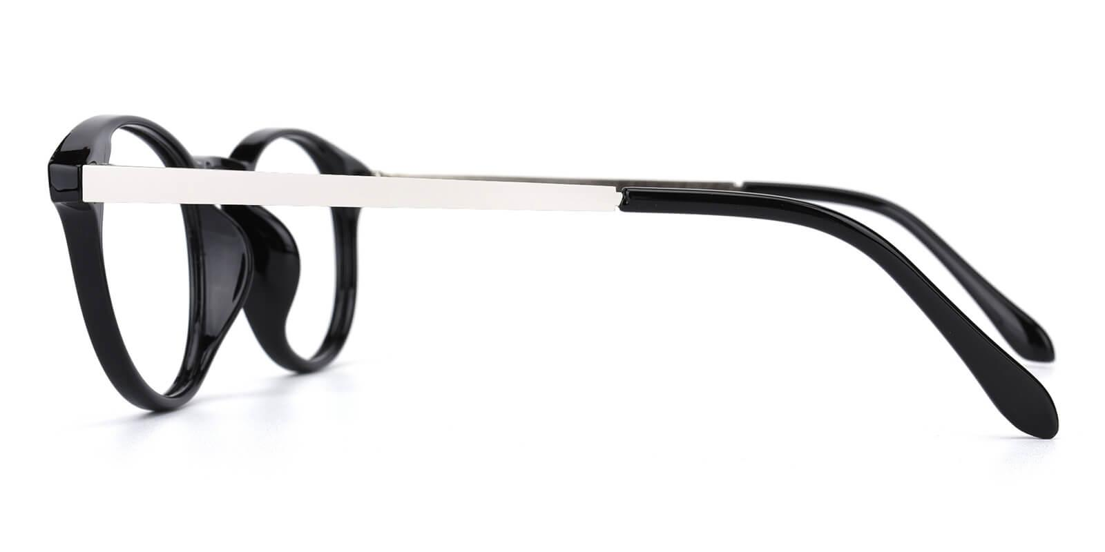 Zaire-Black-Round-Metal / TR-Eyeglasses-additional3