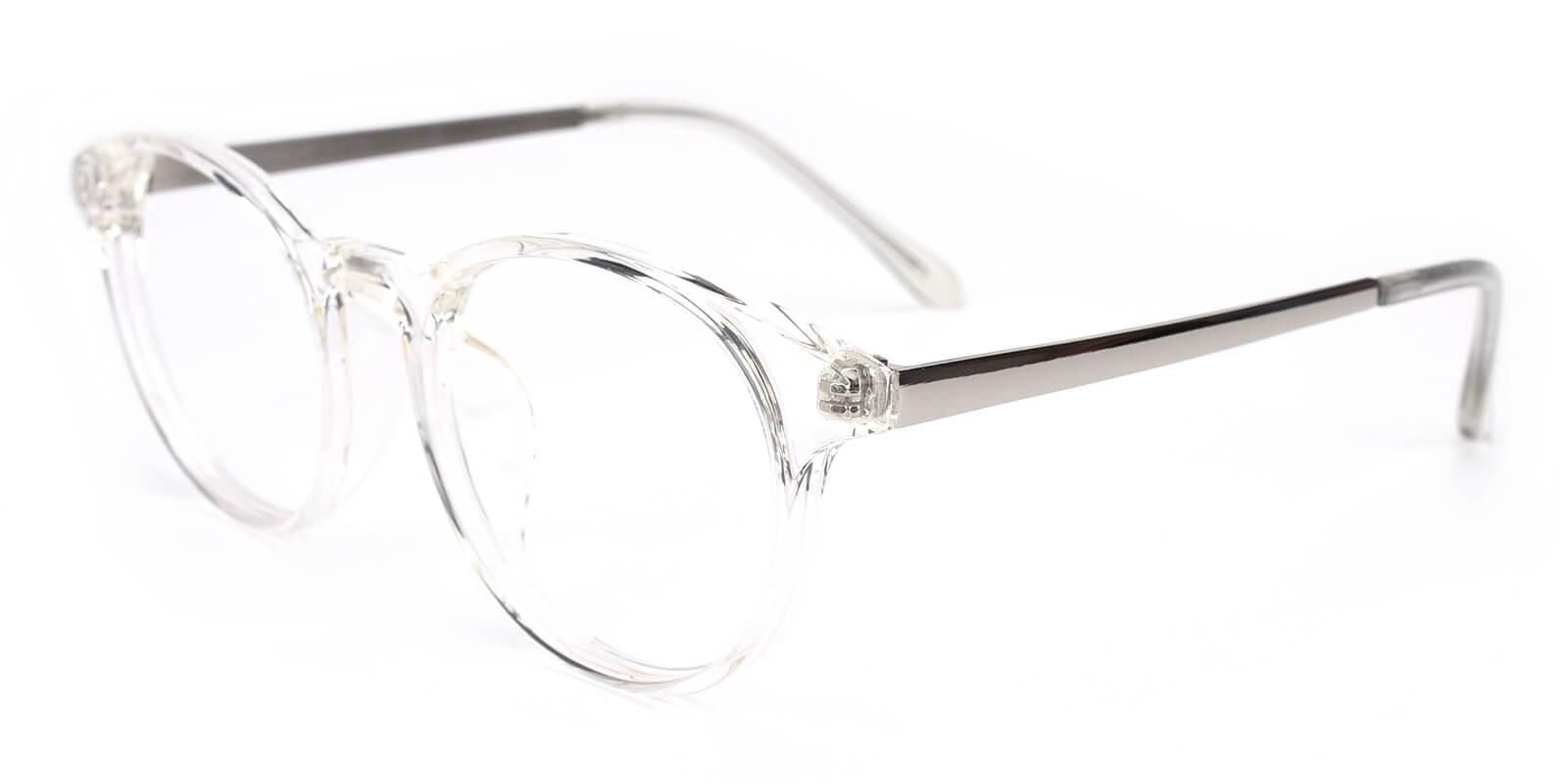Zaire-Translucent-Round-Metal / TR-Eyeglasses-additional1