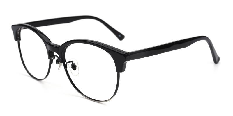 Withered-Black-Eyeglasses / NosePads