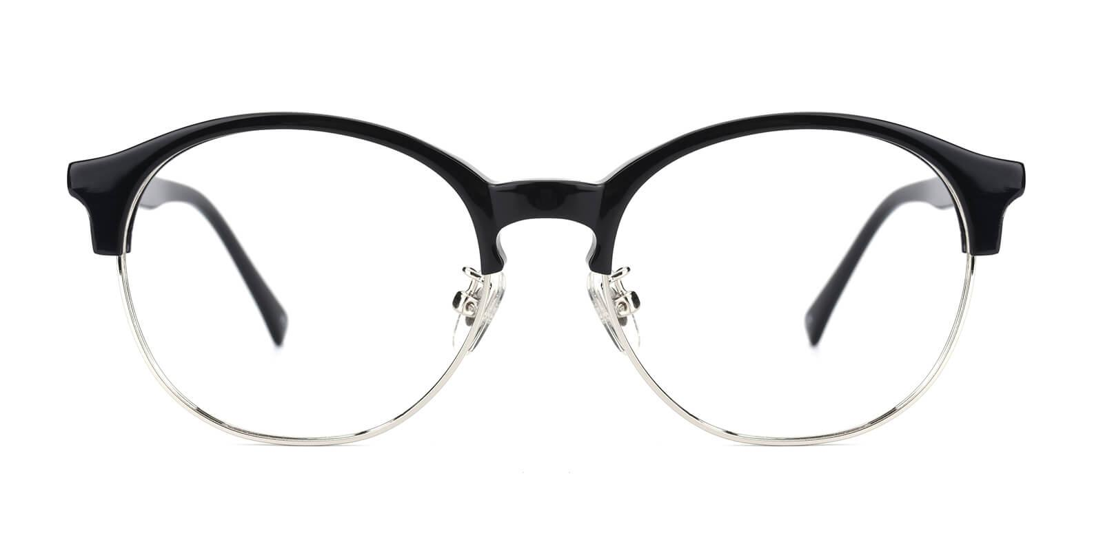Mandisey-Black-Browline-Combination-Eyeglasses-detail