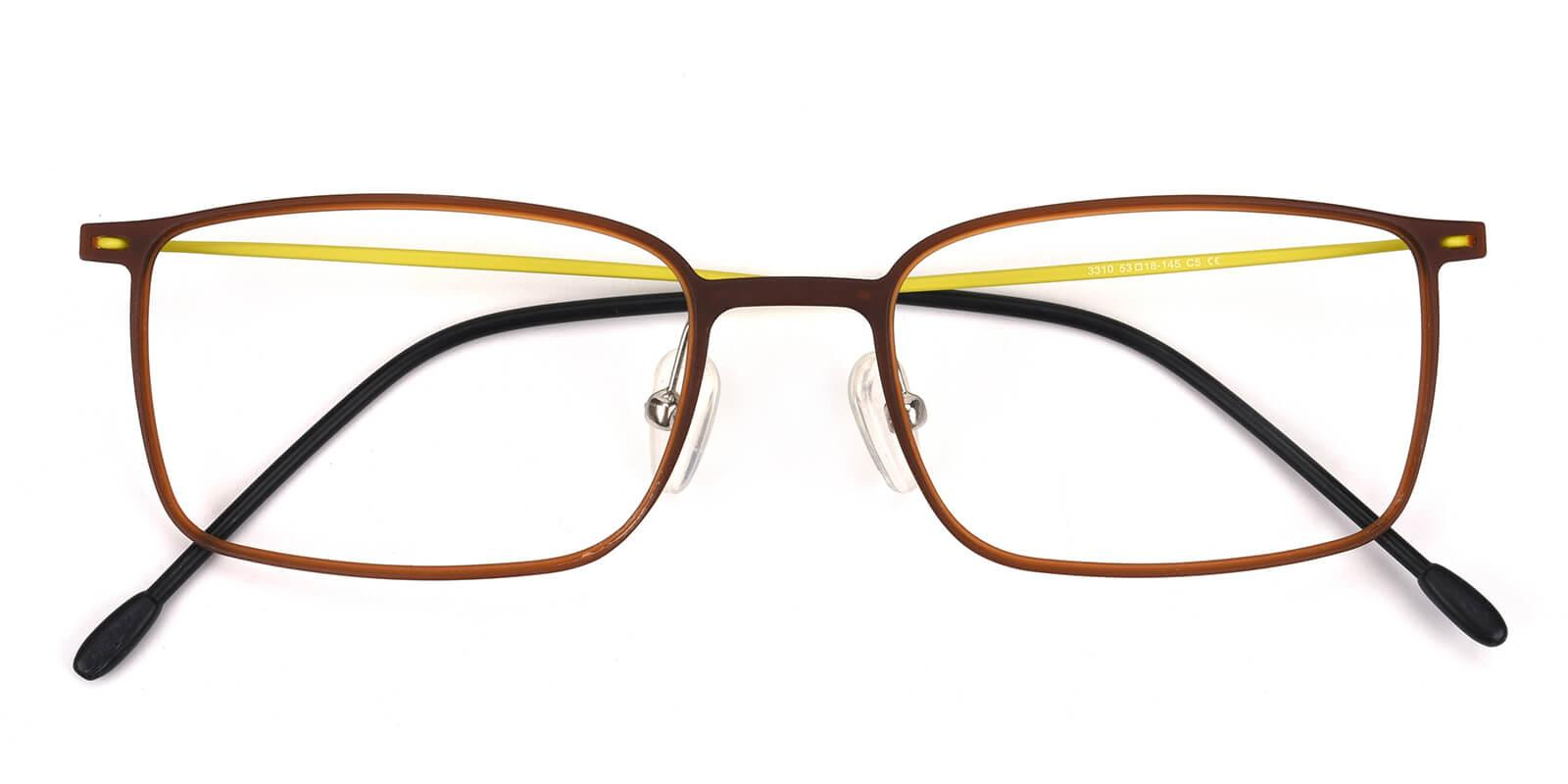 Glory-Brown-Rectangle-Combination-Eyeglasses-detail