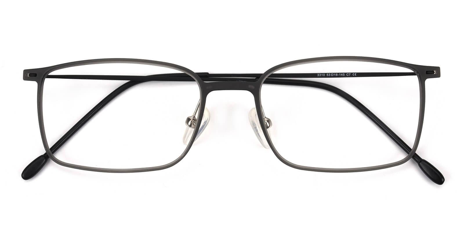 Glory-Gray-Rectangle-Combination-Eyeglasses-detail
