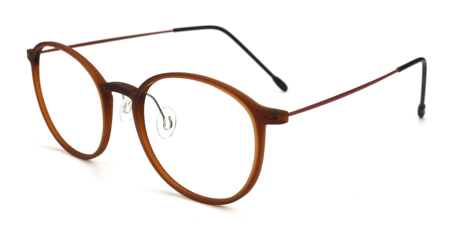 Yunda-Brown-Round-Combination-Eyeglasses-additional1