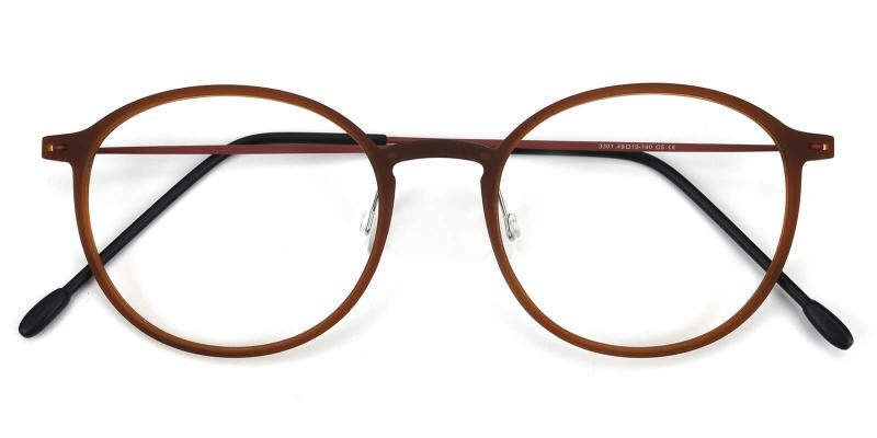 Yunda-Brown-Eyeglasses
