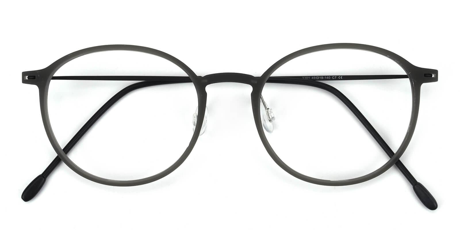Yunda-Gray-Round-Combination-Eyeglasses-detail