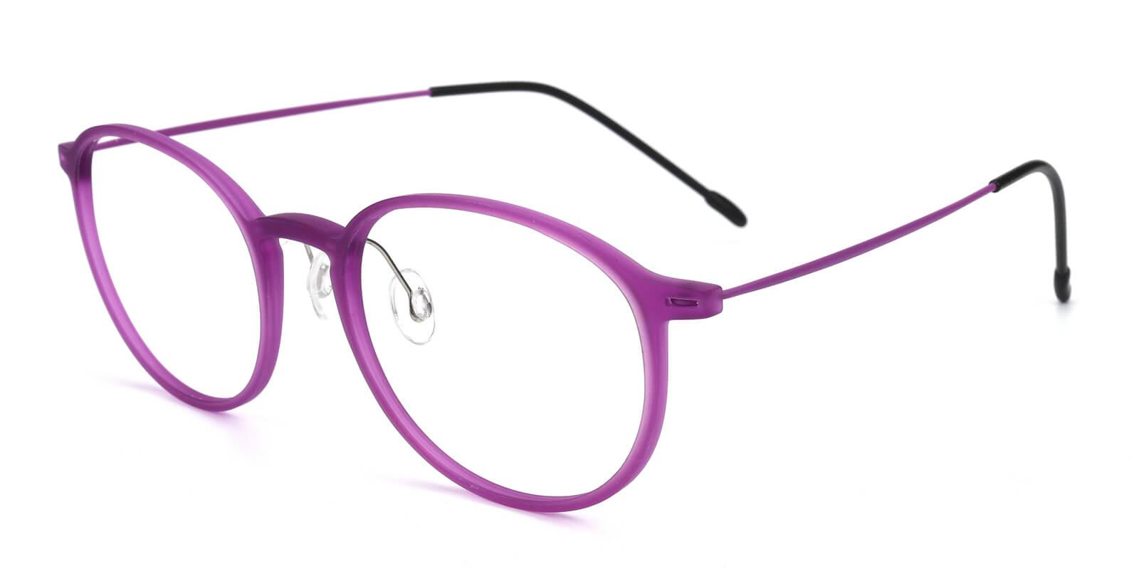 Yunda-Purple-Round-Combination-Eyeglasses-additional1