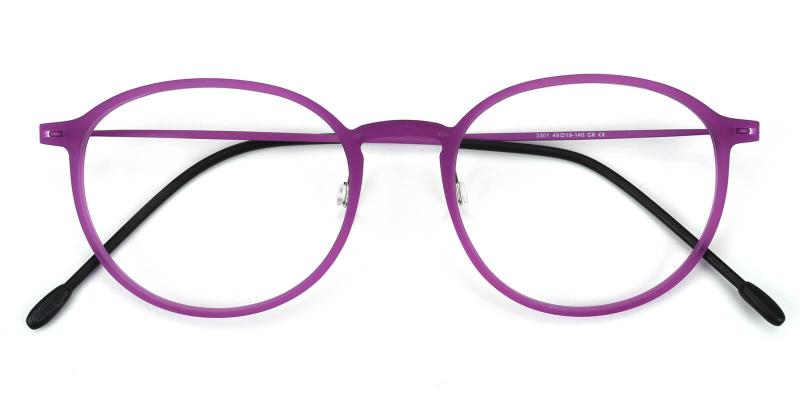Yunda-Purple-Eyeglasses
