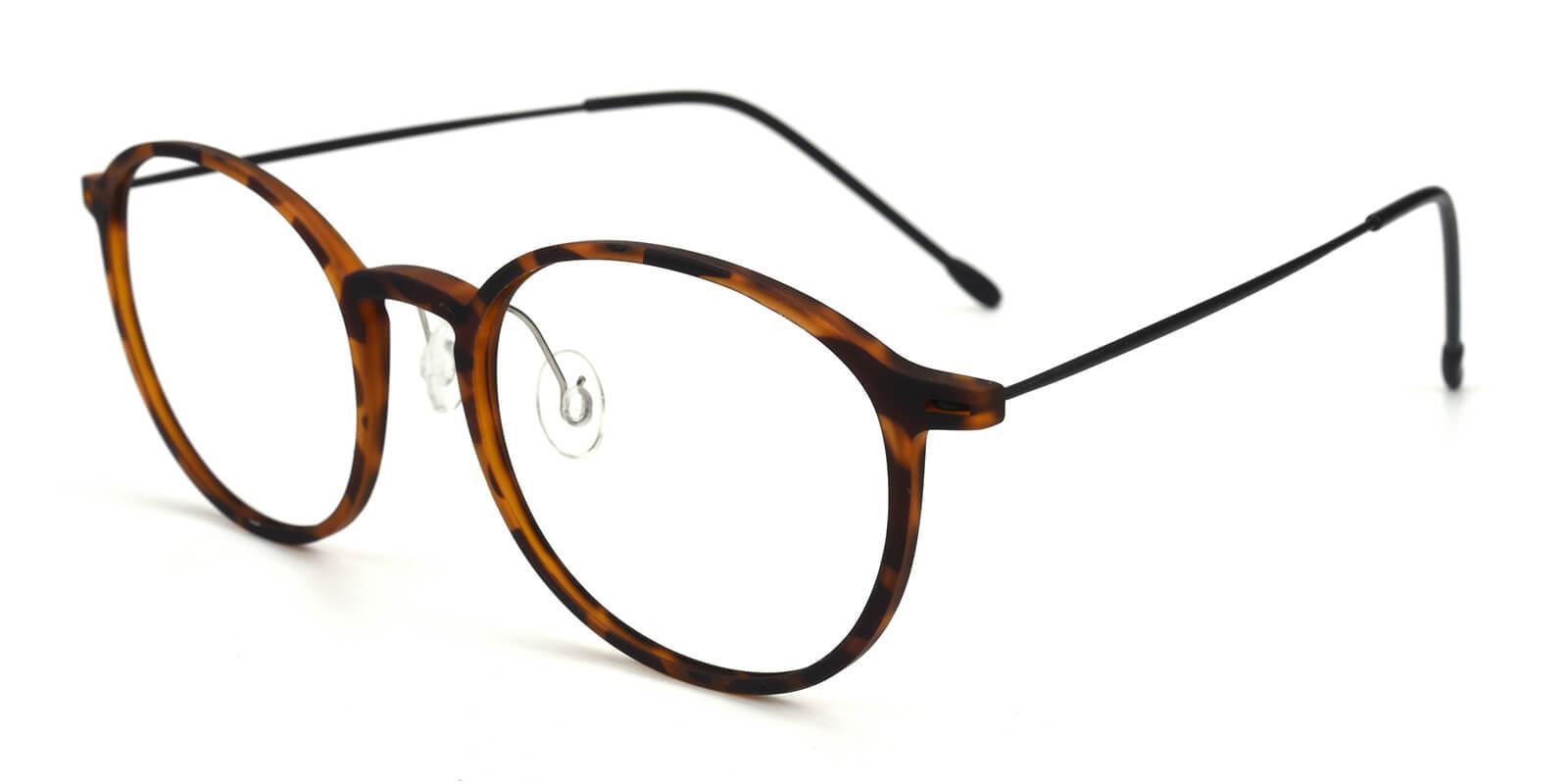 Yunda-Tortoise-Round-Combination-Eyeglasses-additional1