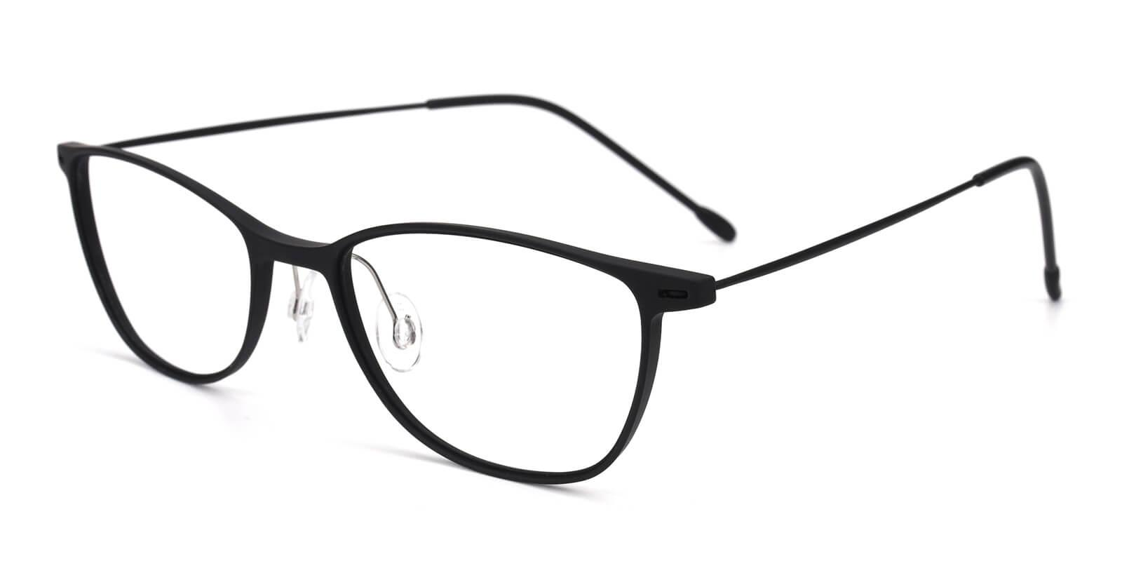 Pridgen-Black-Rectangle / Cat-Combination-Eyeglasses-additional1