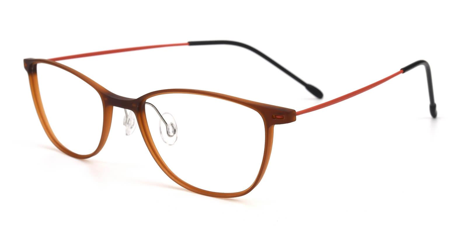 Pridgen-Brown-Rectangle / Cat-Combination-Eyeglasses-additional1