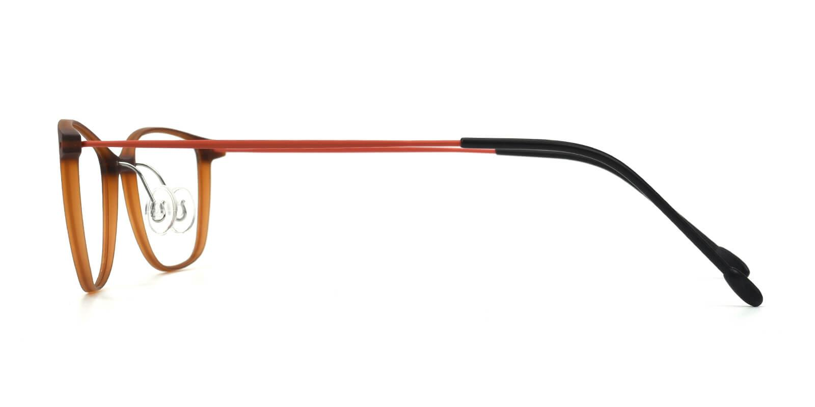 Pridgen-Brown-Rectangle / Cat-Combination-Eyeglasses-detail