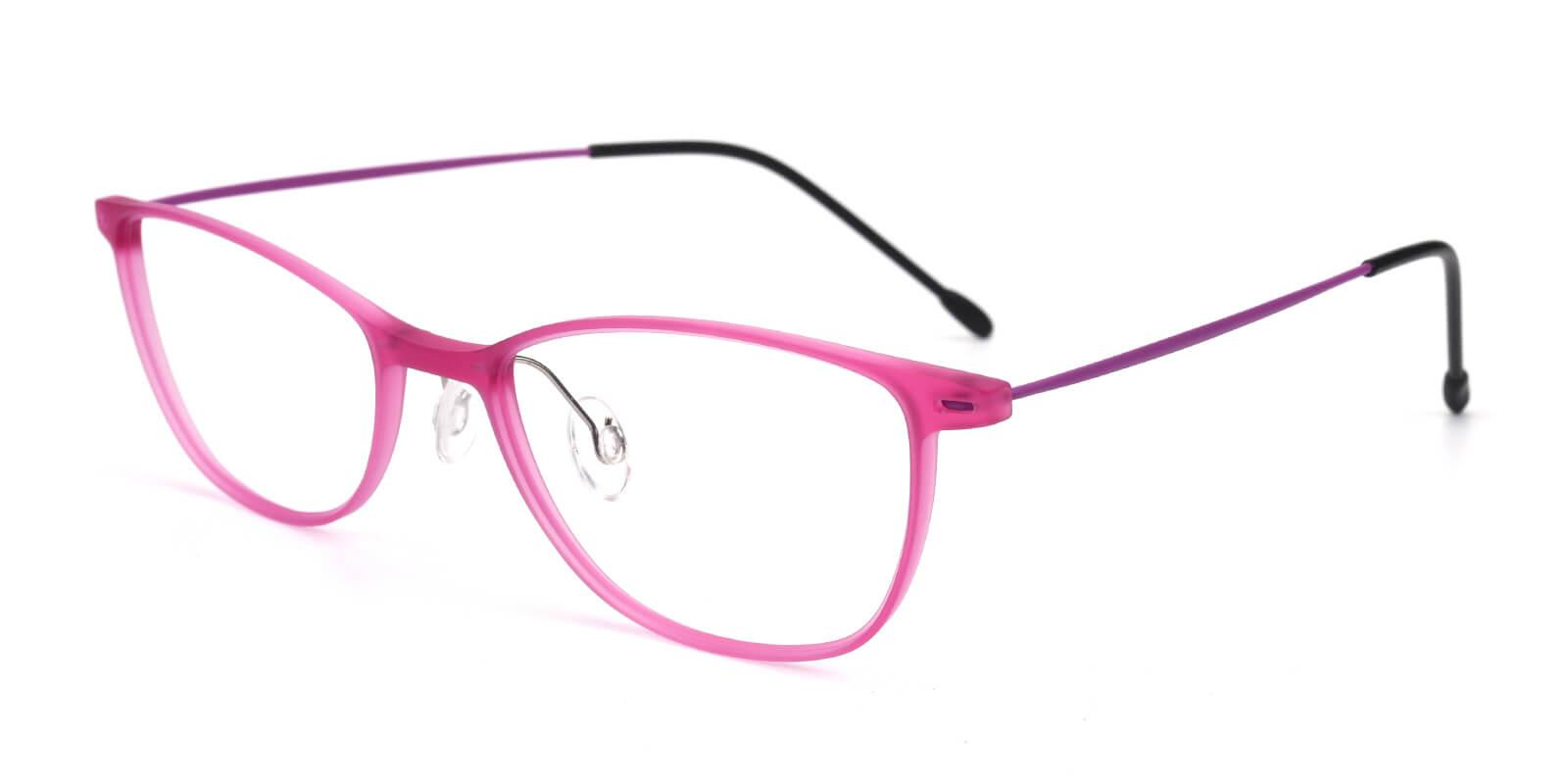 Pridgen-Pink-Rectangle / Cat-Combination-Eyeglasses-additional1