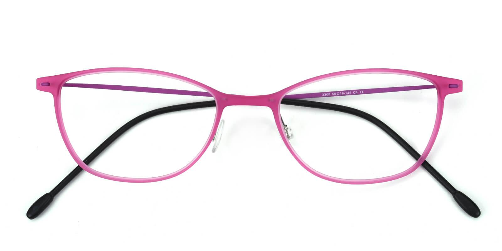 Pridgen-Pink-Rectangle / Cat-Combination-Eyeglasses-detail