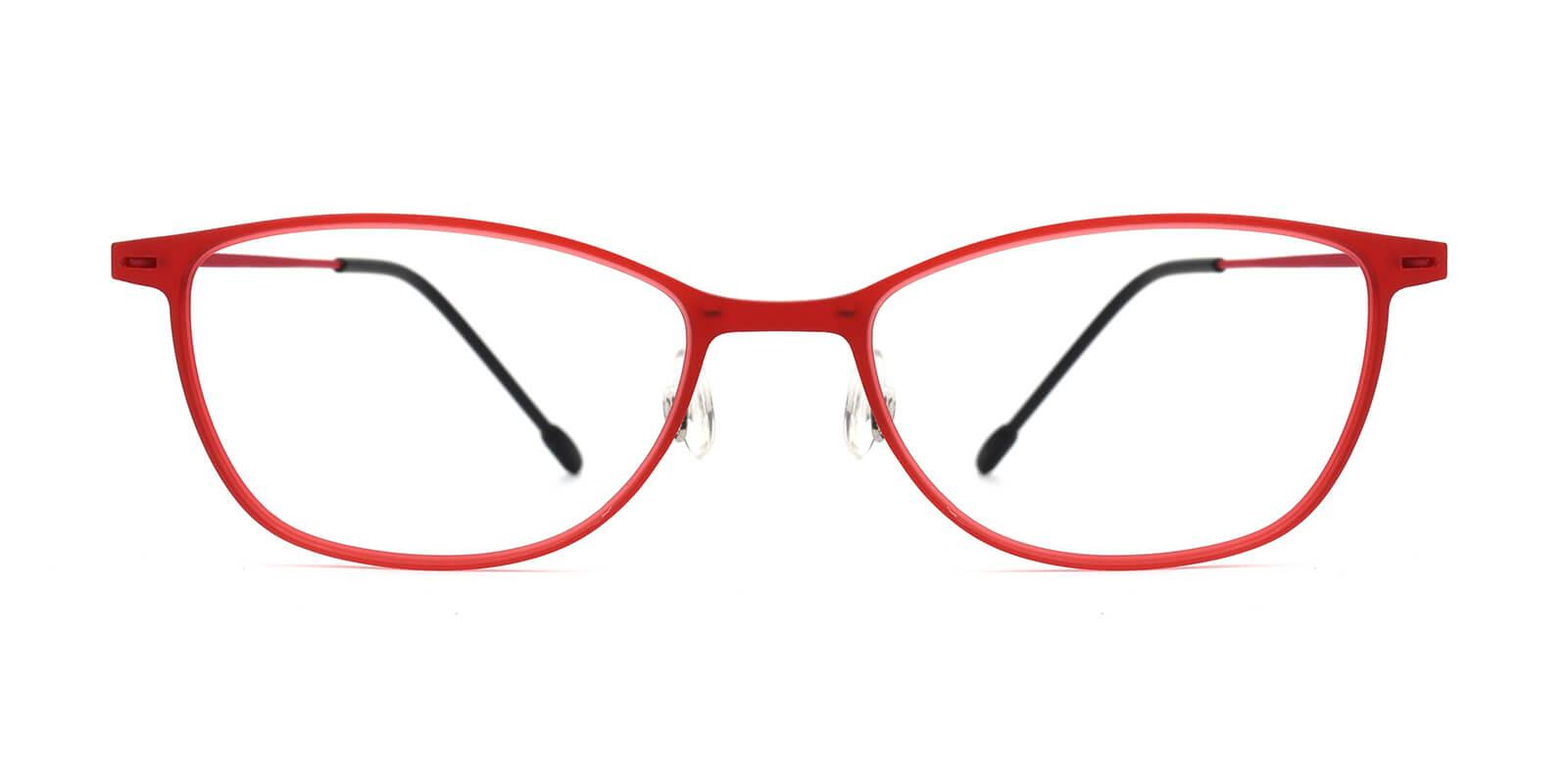 Pridgen-Red-Rectangle / Cat-Combination-Eyeglasses-detail