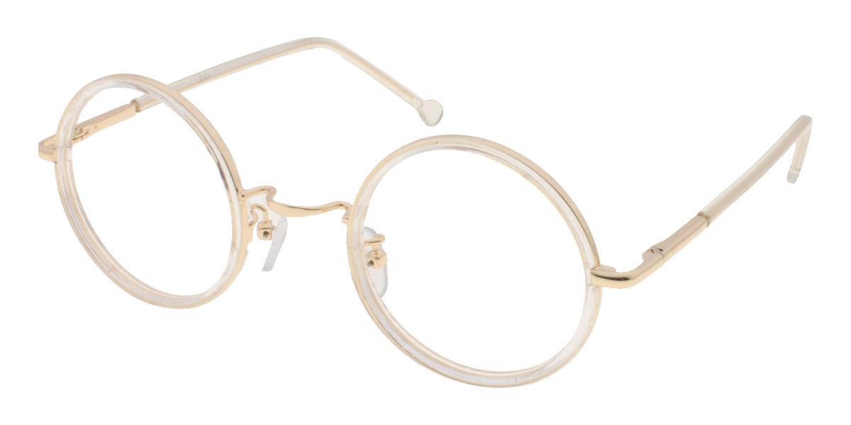 Gamma-Translucent-Round-Metal-Eyeglasses-additional1