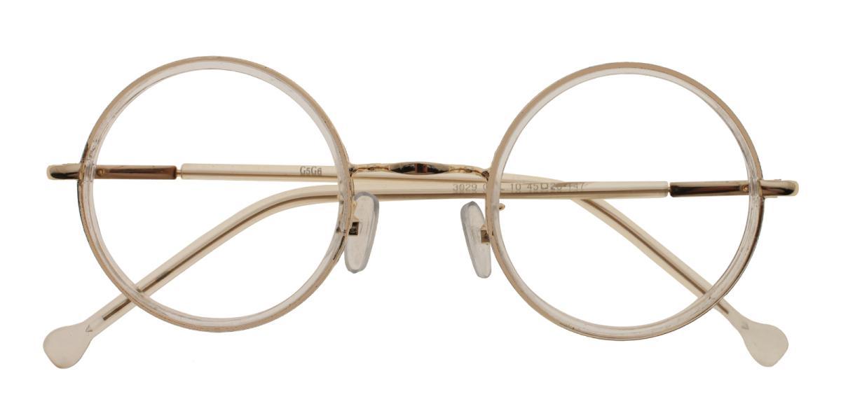 Gamma-Translucent-Round-Metal-Eyeglasses-detail