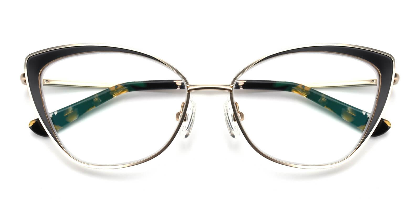 Bloor-Gold-Cat-Metal-Eyeglasses-detail