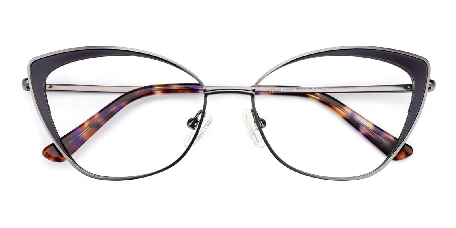 Bloor-Gun-Cat-Metal-Eyeglasses-detail