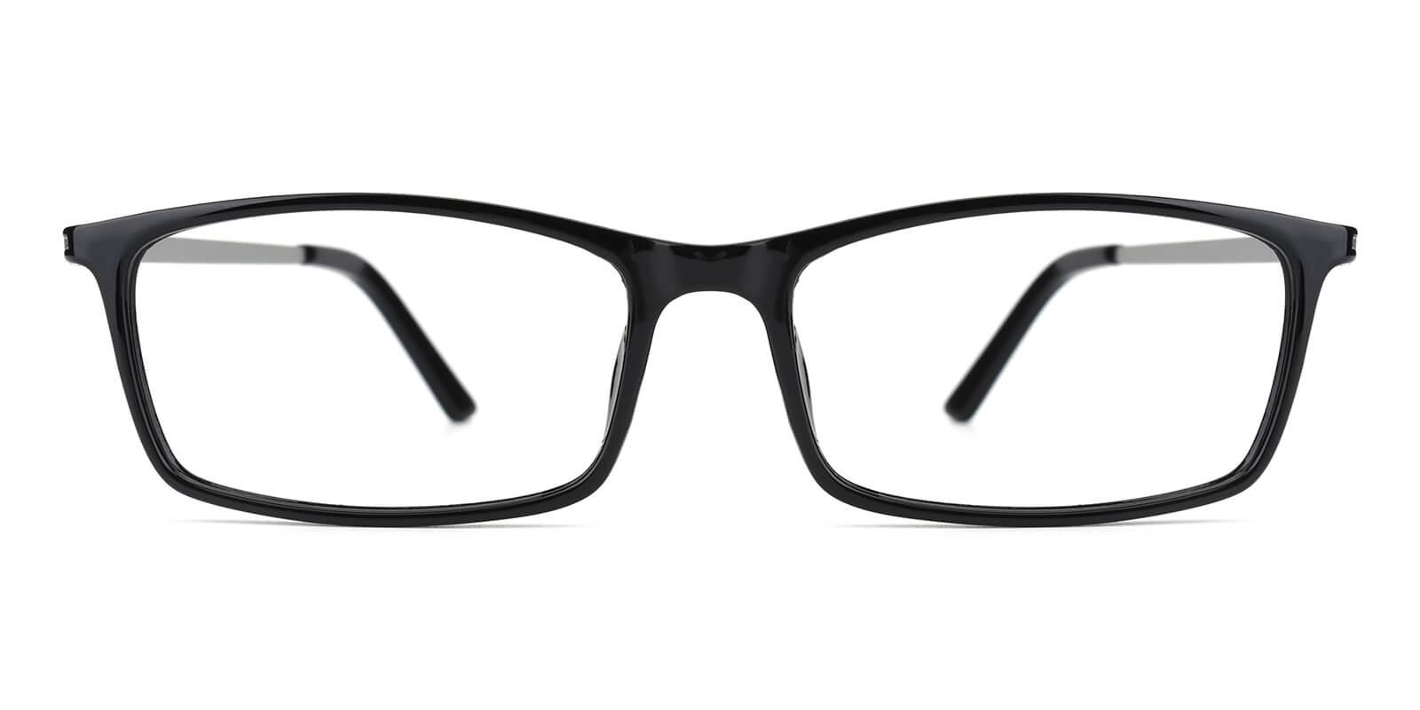 Relarus-Black-Rectangle-TR-Eyeglasses-detail