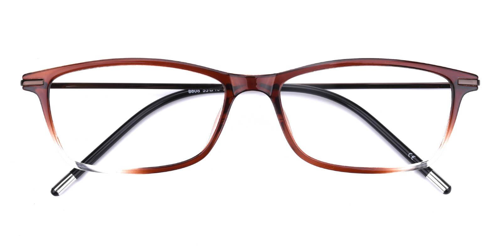 Redbuffer-Brown-Rectangle-TR-Eyeglasses-detail