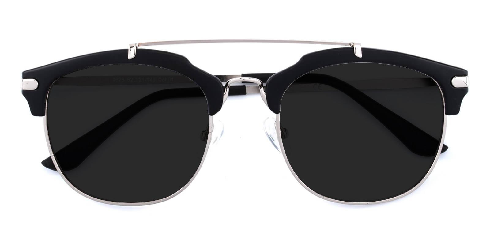 Icychem-Black-Browline-Acetate-Sunglasses-detail