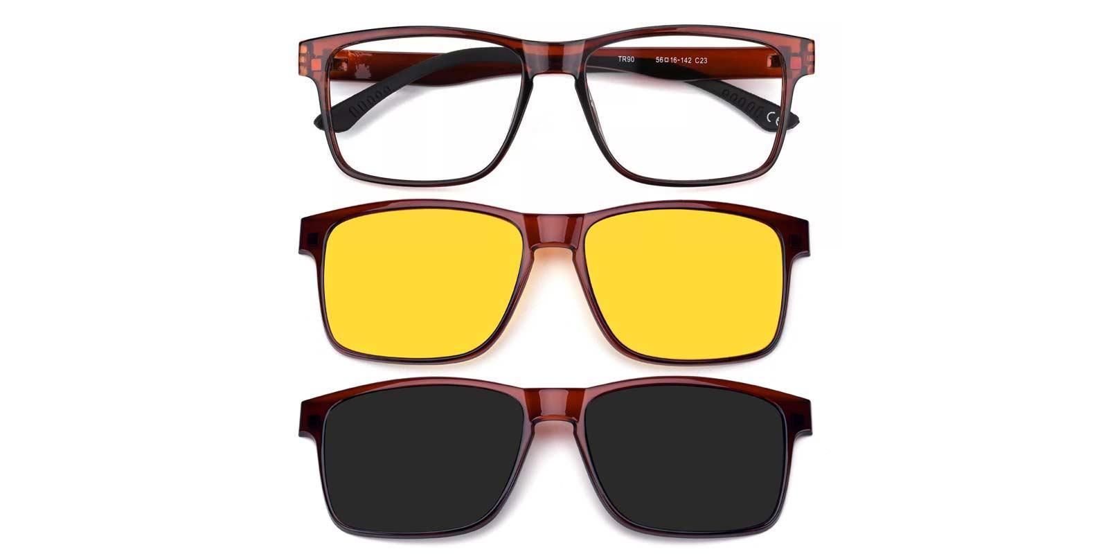 Claudia-Brown-Rectangle-Combination-Eyeglasses-detail