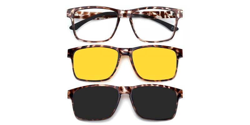 Claudia-Pattern-Eyeglasses / UniversalBridgeFit