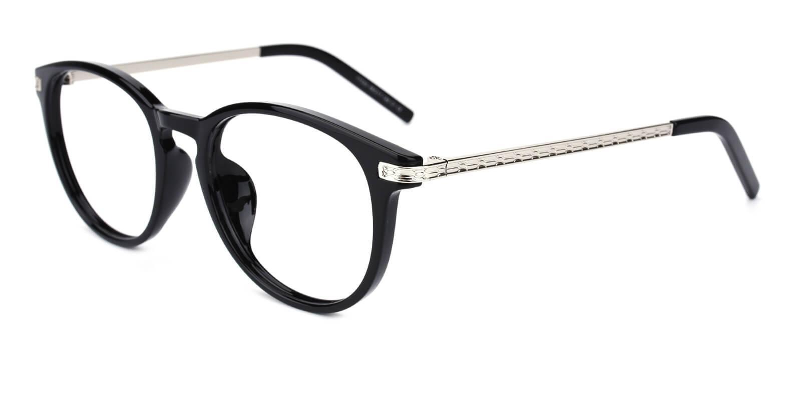 Gambia-Black-Round-Combination-Eyeglasses-additional1