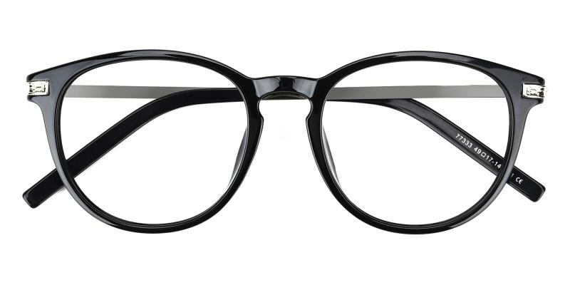 Gambia-Black-Eyeglasses