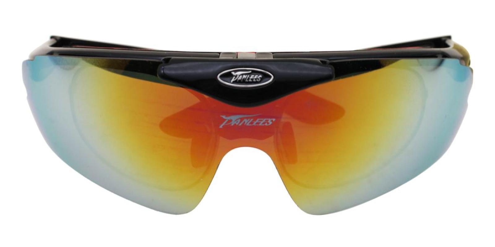 Vigor-Red-Square-Plastic-SportsGlasses-detail