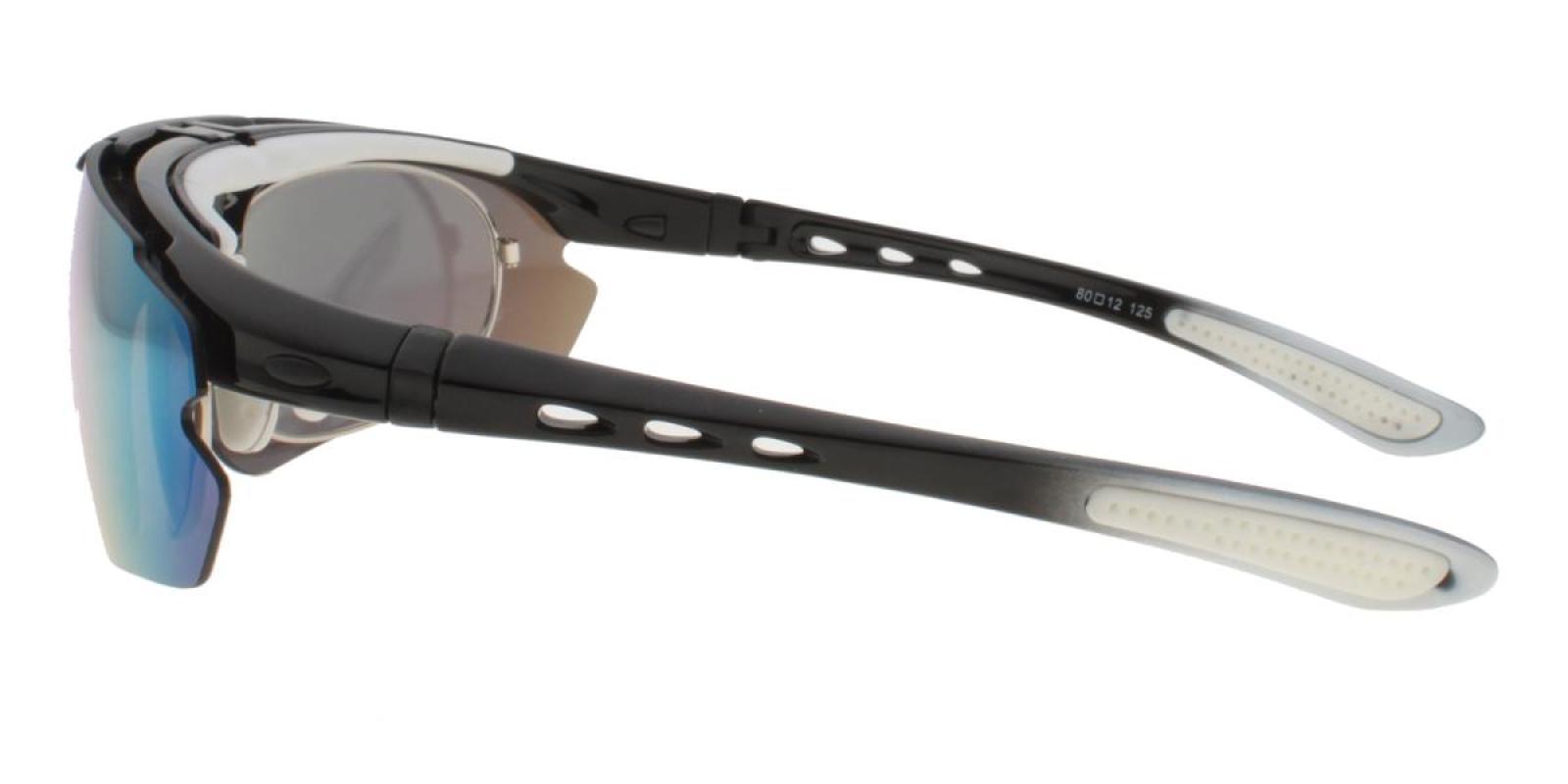 Vigor-White-Square-Plastic-SportsGlasses-detail