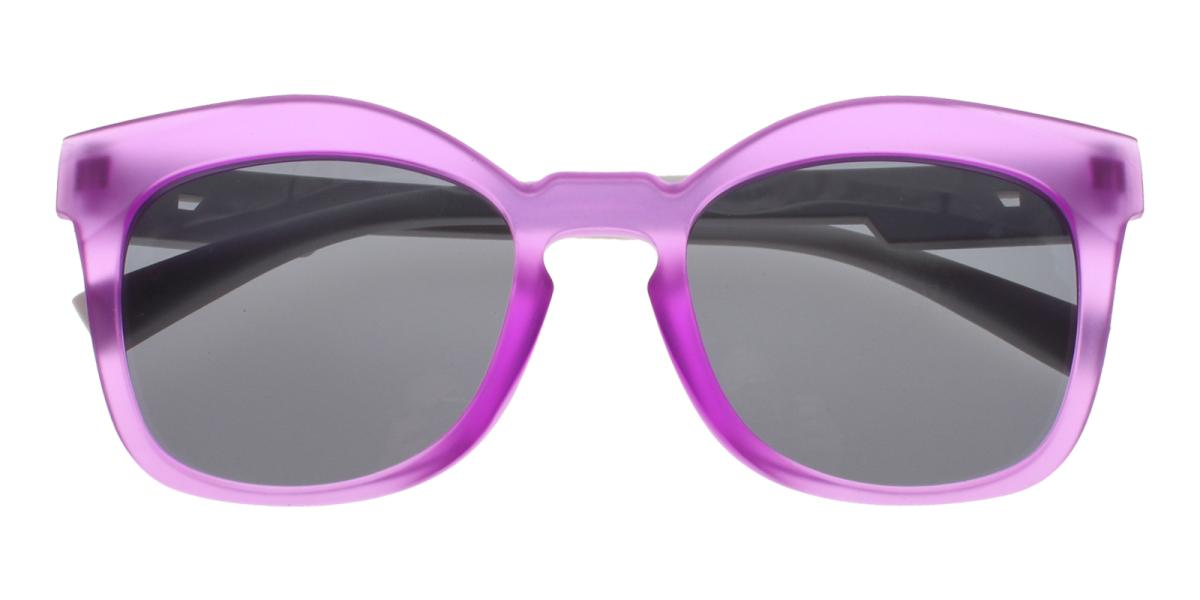 -Purple-Cat-Plastic-Sunglasses-detail