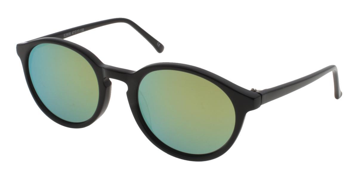 Grailm-Black-Round-Acetate-Sunglasses-detail