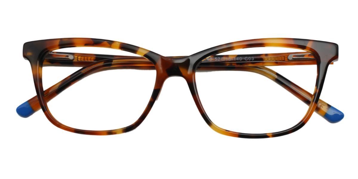 Clowdia-Leopard-Square / Cat-Acetate-Eyeglasses-additional2